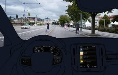 Noul Volvo XC40 - sisteme siguranta activa