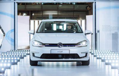 VW e-Golf - start productie Dresda
