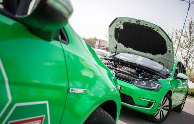 VW e-Golf - Kaufland Renovatio
