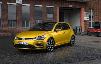 VW Golf 7 facelift - video