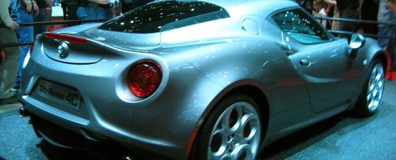 Alfa Romeo 4C - lateral