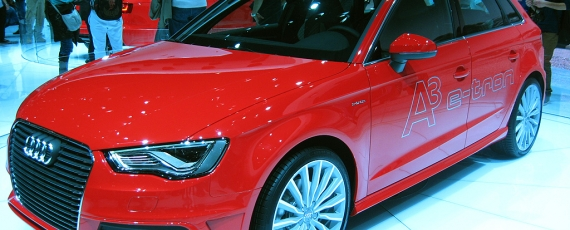 Audi A3 Sportback e-tron - lateral stanga
