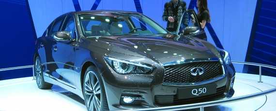 Infinity Q50 - lateral