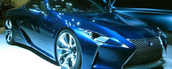 Lexus Opal Blue LF LC