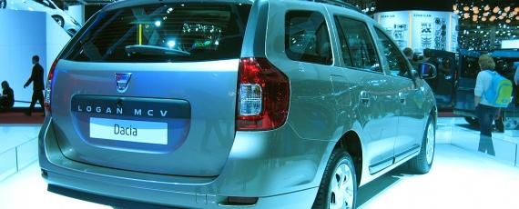 Dacia Logan MCV - spate