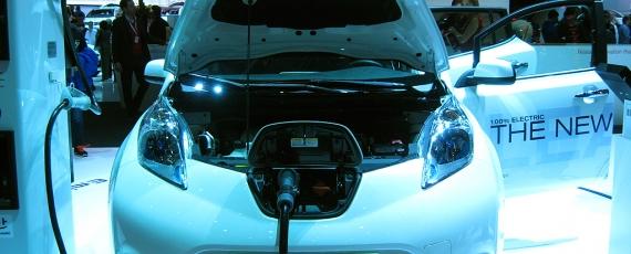 Nissan Leaf - sistemul de incarcare