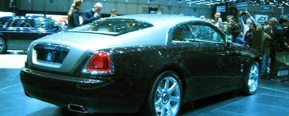 Rolls Royce Wraith - lateral spate dreapta
