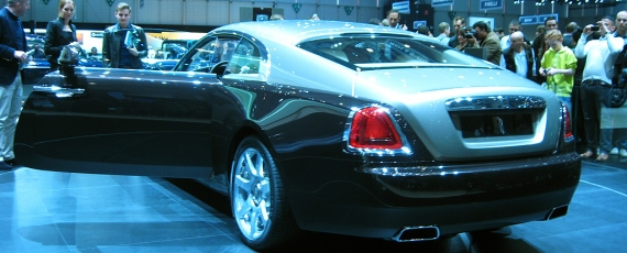 Rolls Royce Wraith - lateral spate stanga