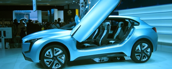 Subaru Viziv Concept - lateral stanga