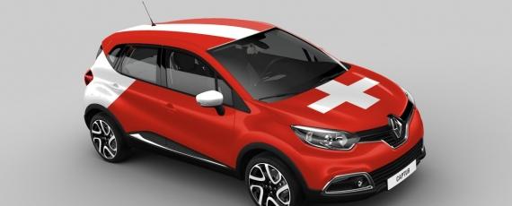 Renault Captur Elveţia