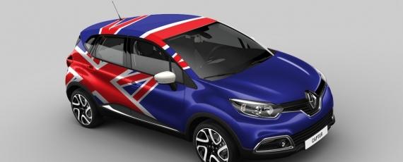 Renault Captur Marea Britanie