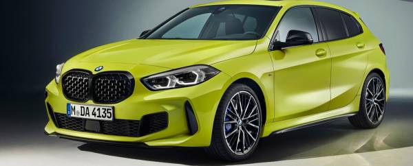 BMW M135i xDrive M Sao Paulo Yellow